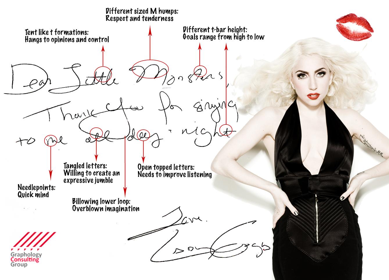Where can I get Lady Gaga's signature?